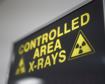 Picture of an x-ray sign