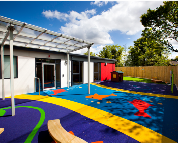 Picture of nursery outside area