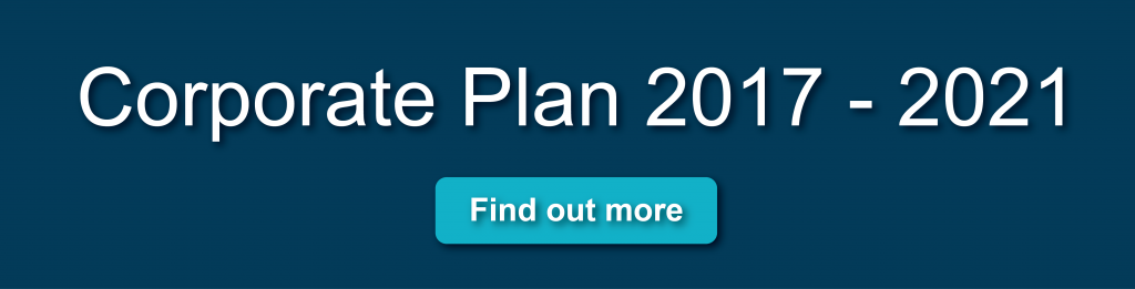 Corporate Plan 2017-2021 Click here