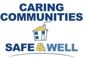Caring Communities Safe And Well Logo